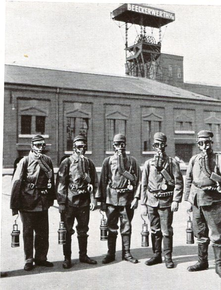 Zeche Beeckerwerth, Ruhr, 1931