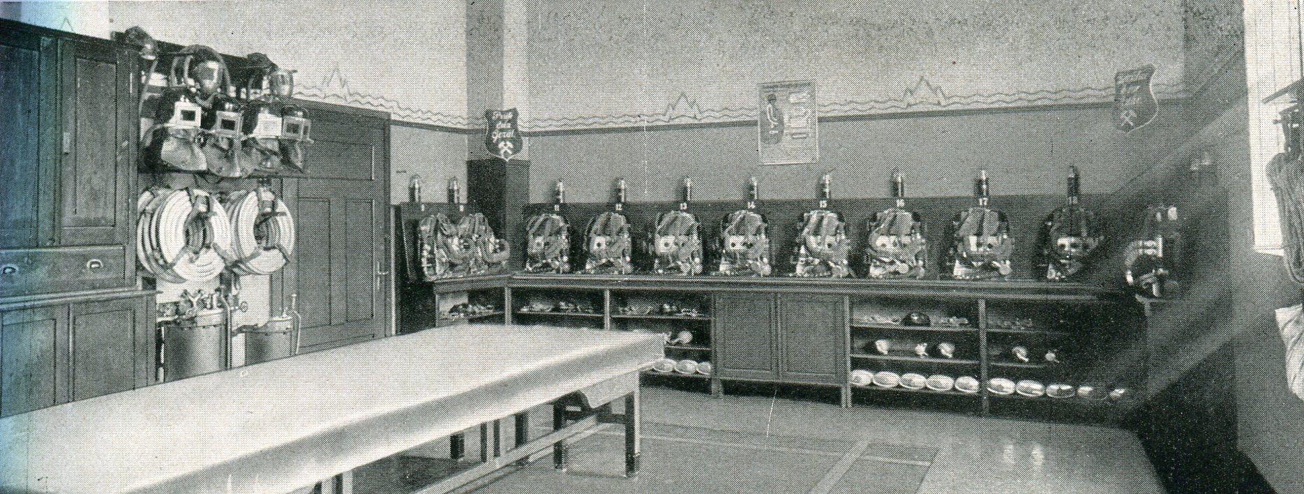 Bergmannsglück in Buer  1927