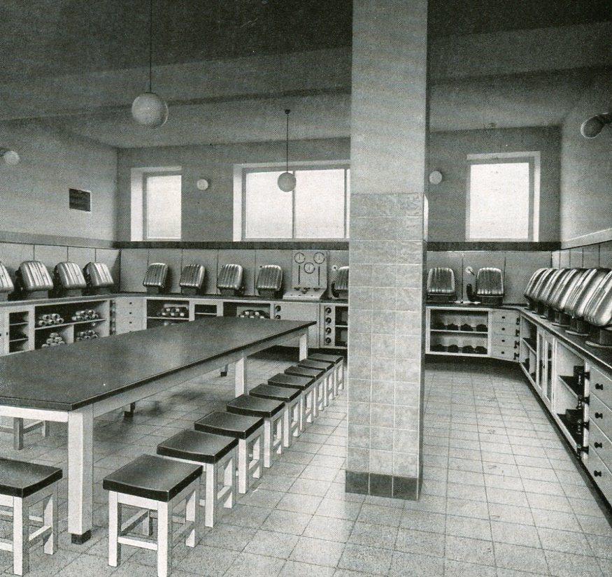 Geräteraum Gewerkschaft Emscher-Lippe in Datteln   1938