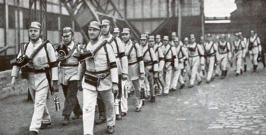Grubenwehr Königin Luise, Oberschlesien 1931