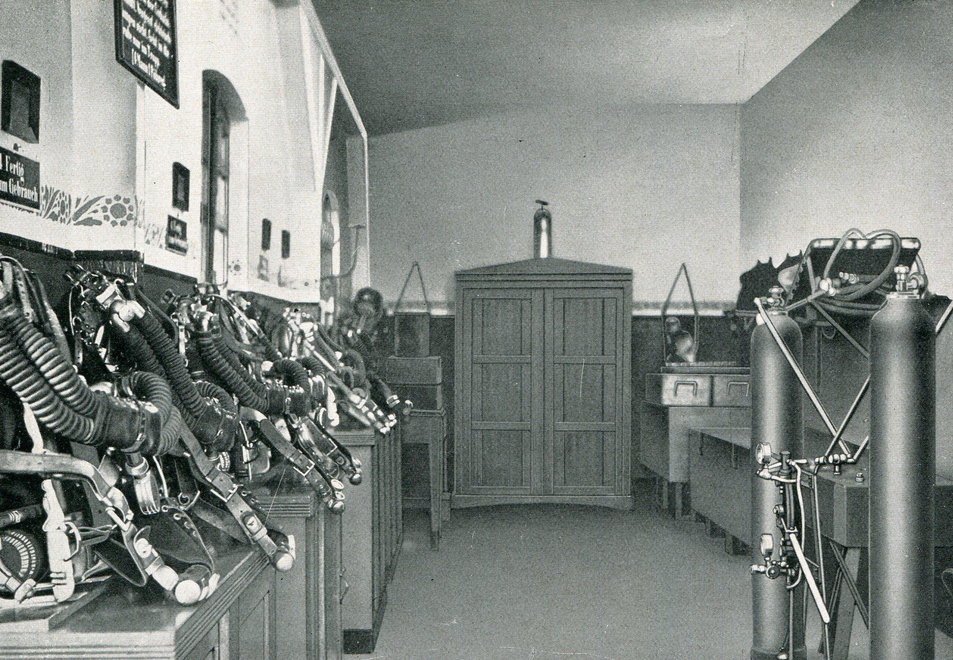 Möllerschächte in Gladbeck  1927