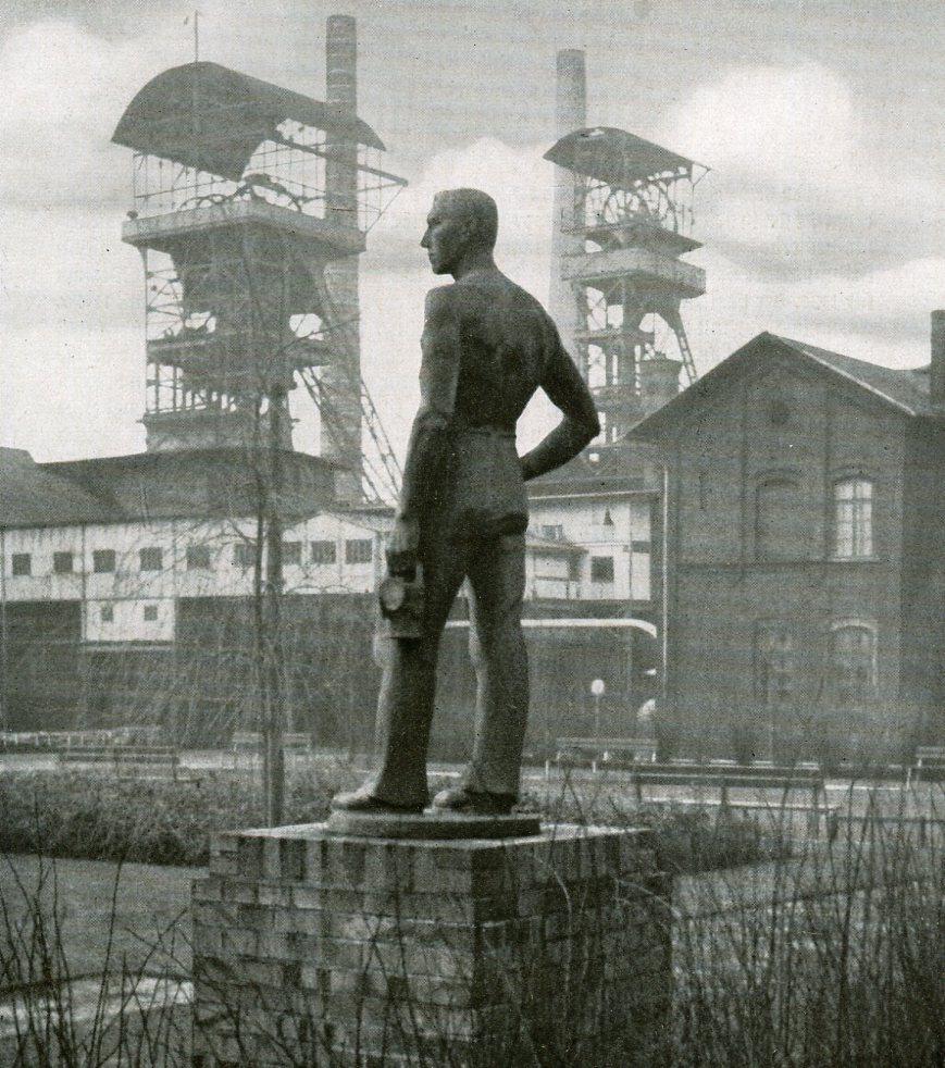 Steinkohlenbergwerk Vereinigte Karsten-Centrum-Grube,  Beuthen, Oberschlesien   1937