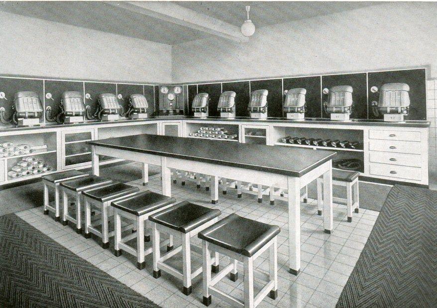 Geräteraum Friedrich der Grosse in Herne   1938