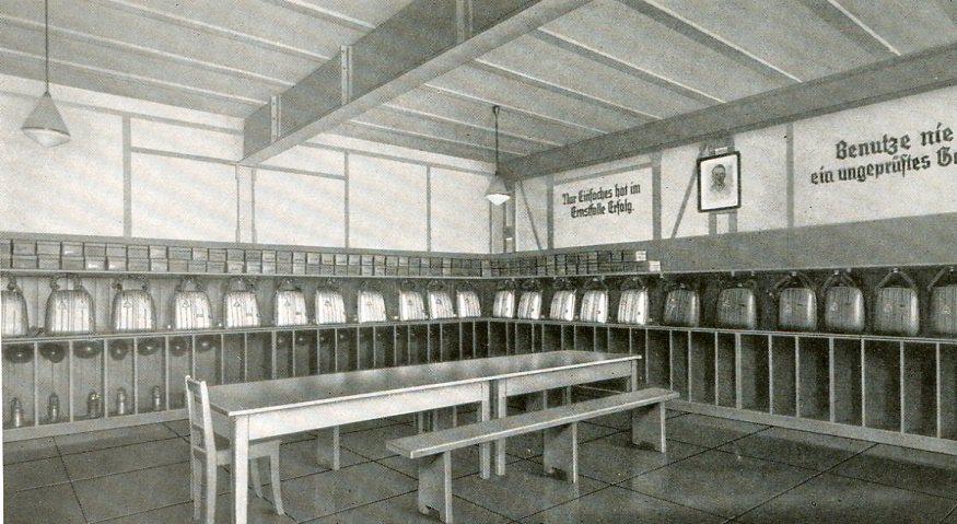 Geräteraum Karsten-Centrum-Grube, Beuthen  1938