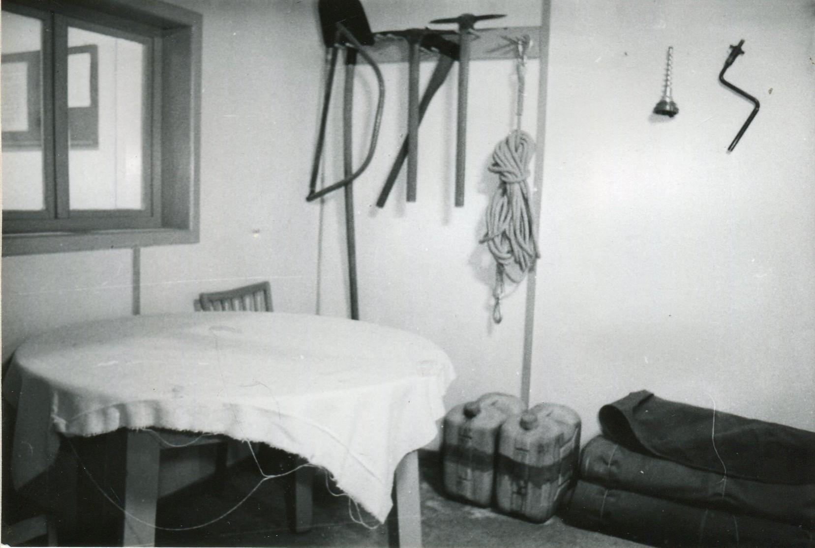 Aufenthals und Unterrichtsraum im Gerätestützpunkt