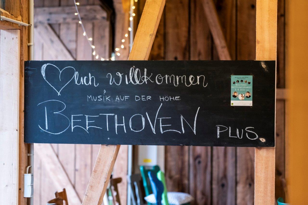 Beethoven Plus in der Dorfscheune Bieselsberg