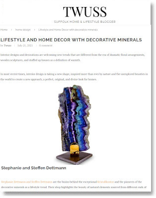 TWUSS - Lifestyle and Home Decor with decorative minerals