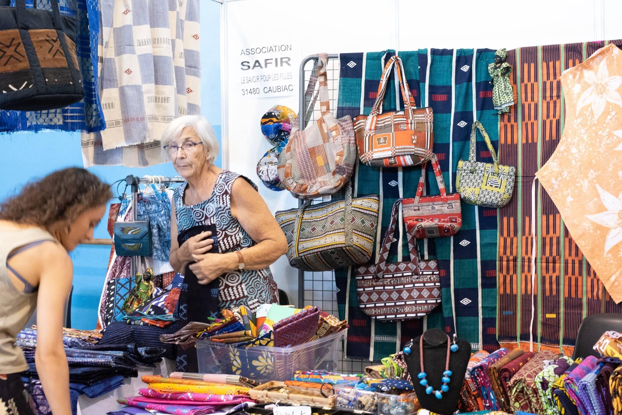 Salon des loisirs créatifs, Fête du Fil 2018 Labastide Rouairoux
