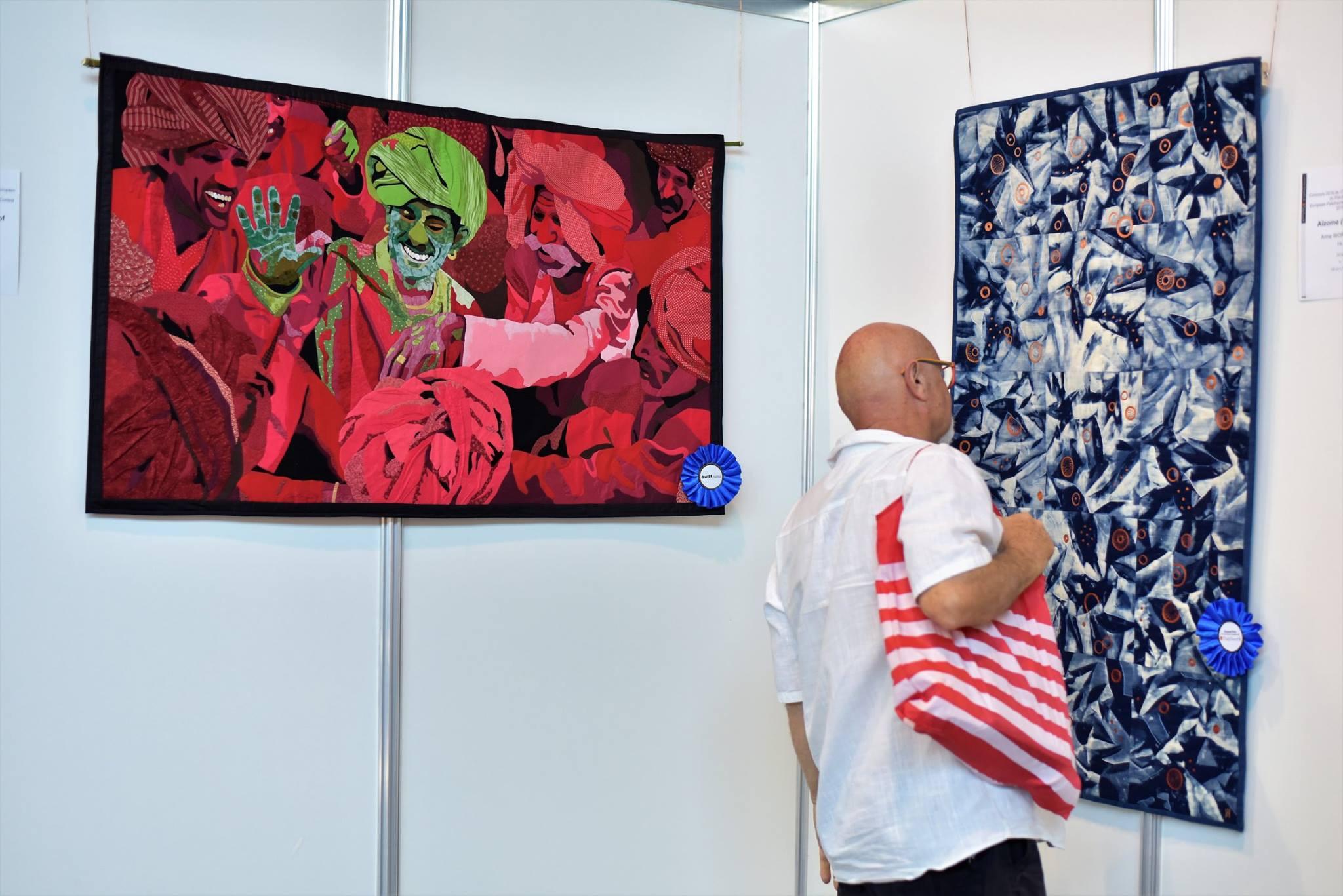 Exposition concours CEP, Fête du Fil 2017 Labastide Rouairoux