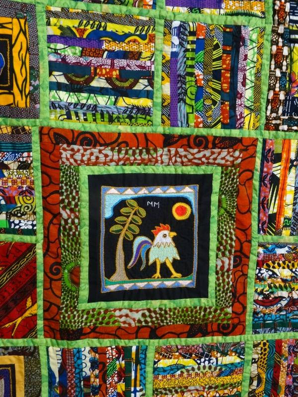 TAMBANI, broderies et sérigraphies afrique du sud. Fête du Fil 2015 Labastide Rouairoux (tarn-81270) FRANCE