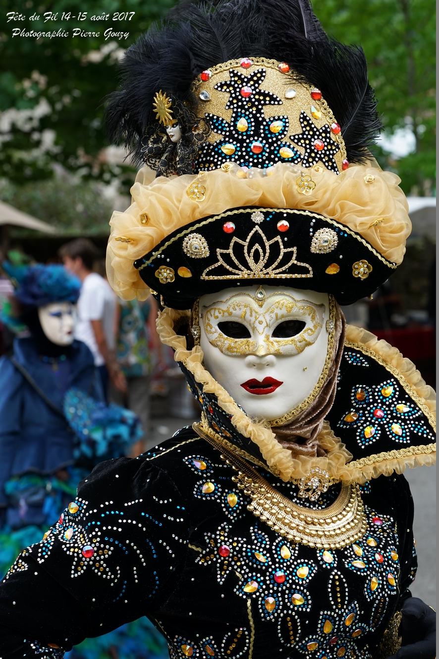 Masqués Vénitiens de France, Fête du Fil 2017 Labastide Rouairoux