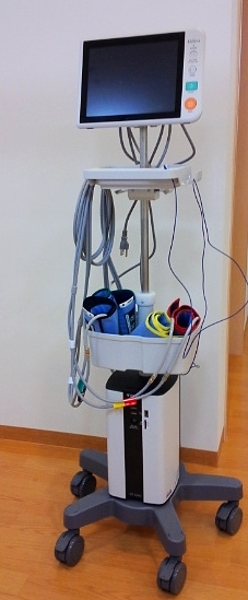 CABI(血管年齢と動脈の詰まりを測定)