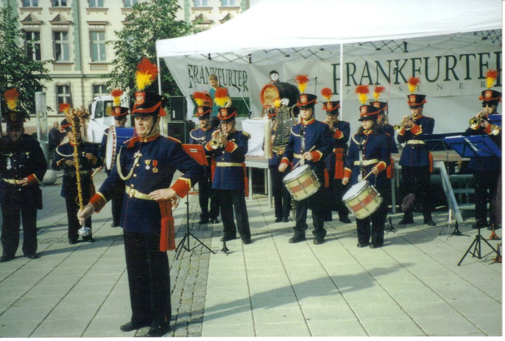 Stadtgarde Heilbronn Frankurt - Oder  2001