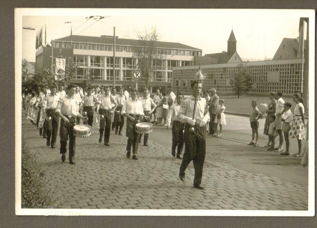 Umzug durch Heilbronn 1959