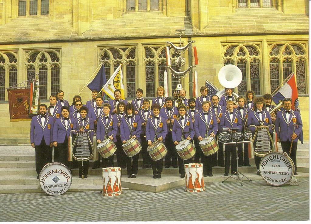 Hohenloher Musikzug 1988