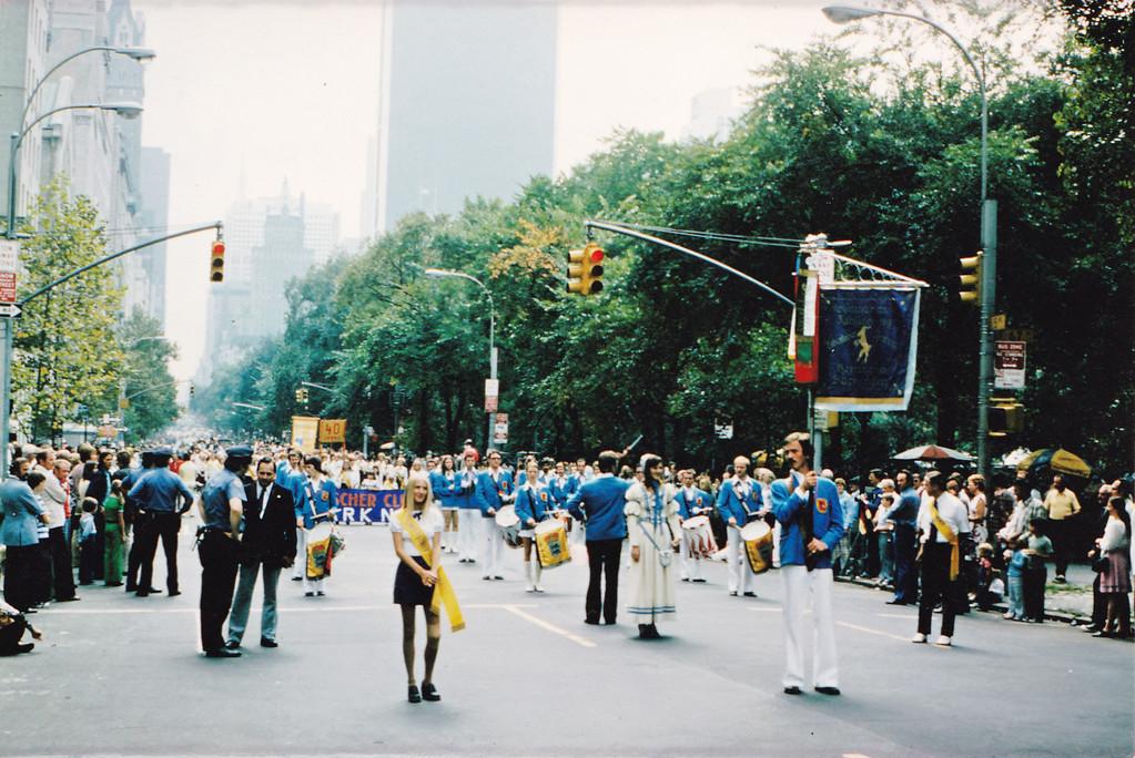 USA-Auftritt  Steubenparade New York 1975