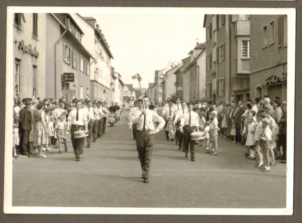 Umzug in Heilbronn 1959