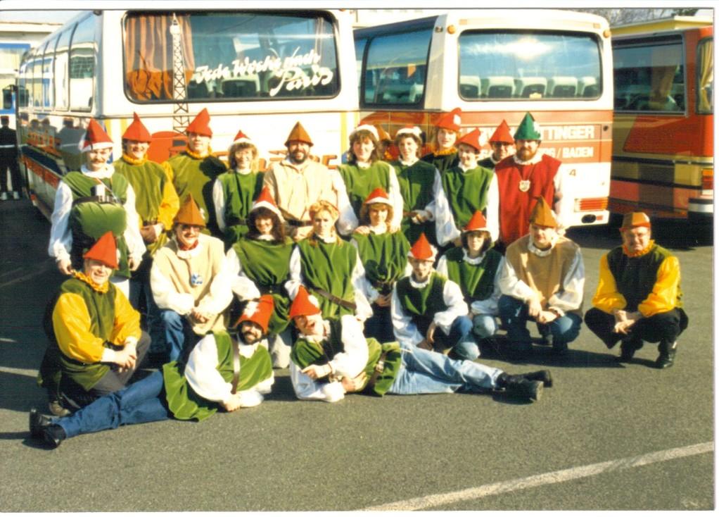 Rosenmontagsumzug Bonn 1988