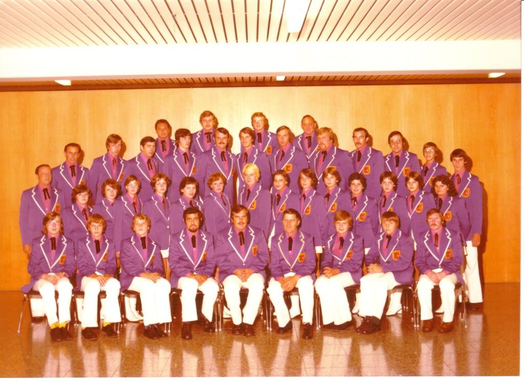 Fanfarenzug des Hohenloher Vereins 1975