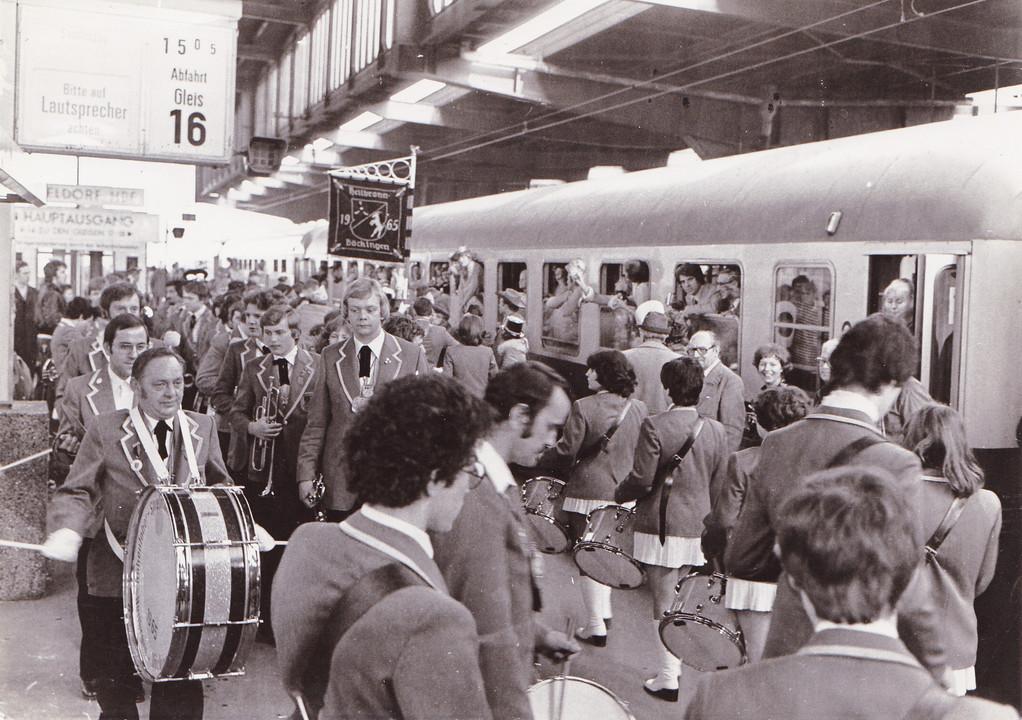 Düsseldorf - Sonderzugempfang 1977