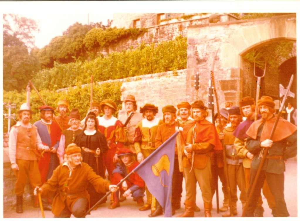 Schauspiel in Bönningheim 1976