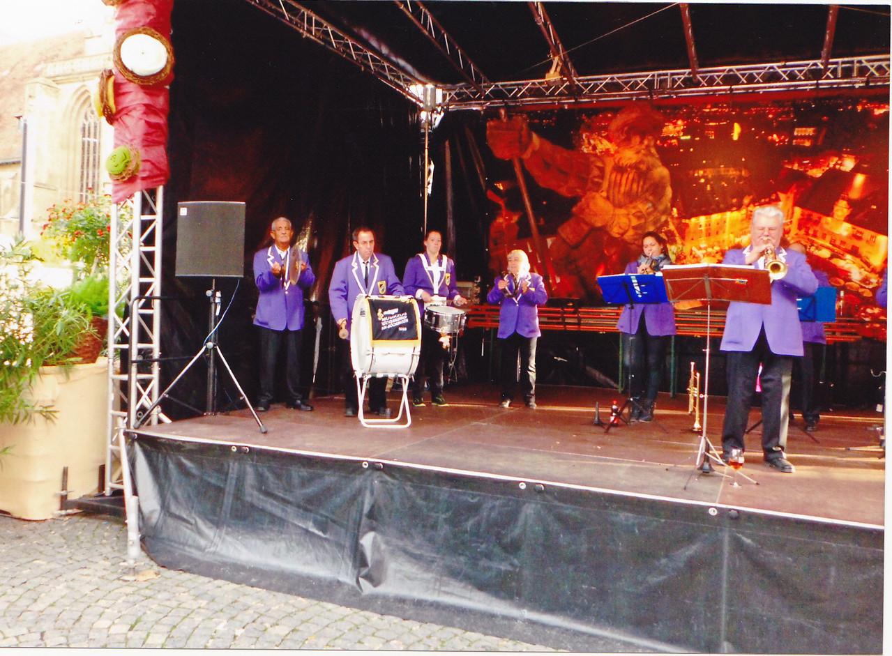 Auftritt Weindorf Sept. 2013