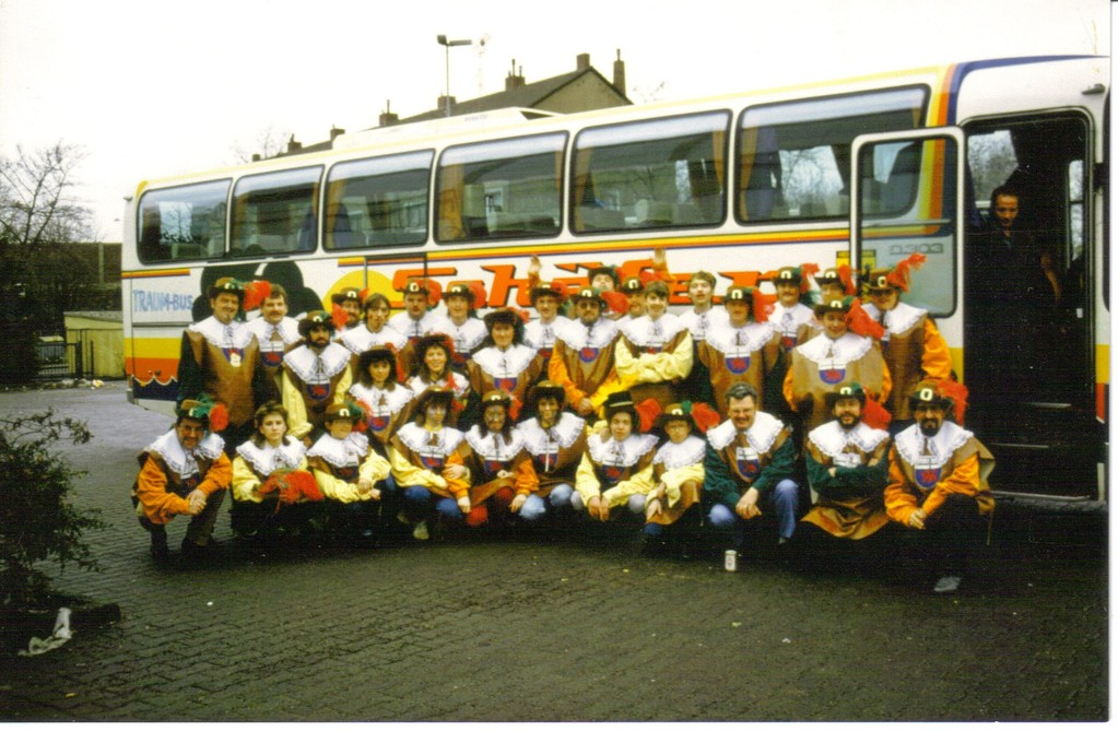 Rosenmontag  Bonn 1987