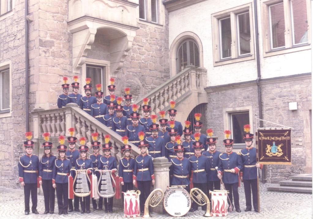 Stadtgarde Heilbronn Gründungsbild 1983