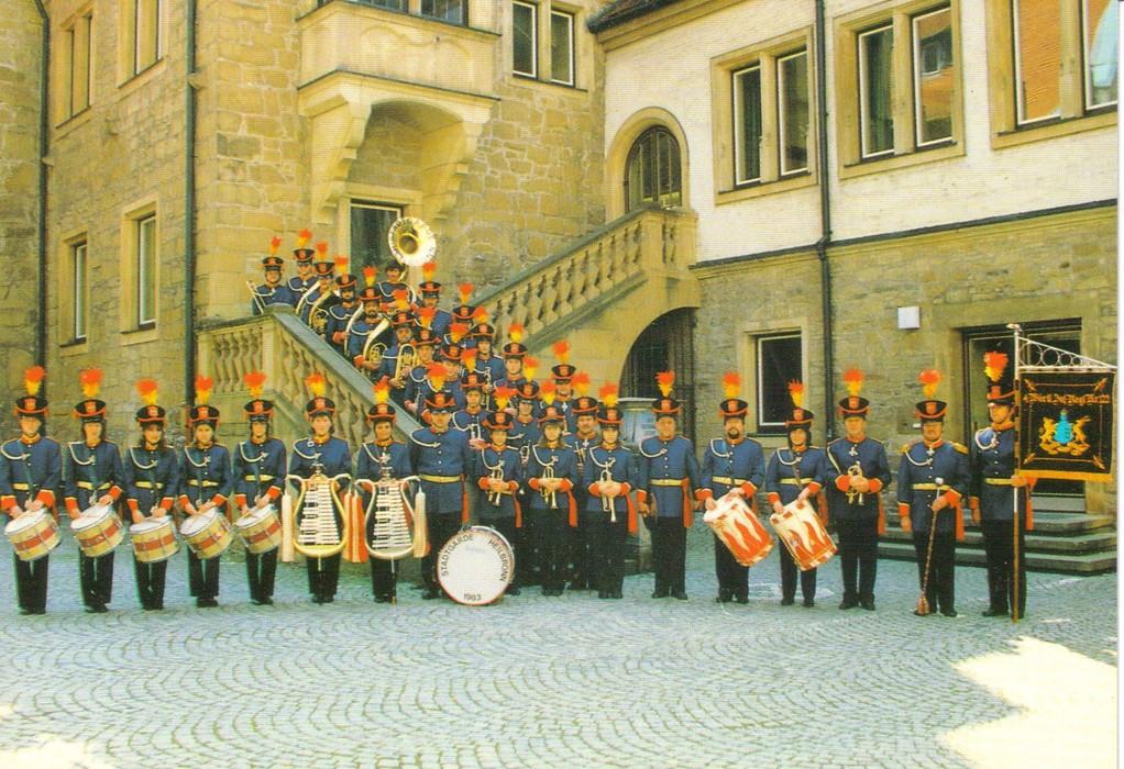 Stadtgarde Heilbronn 1987