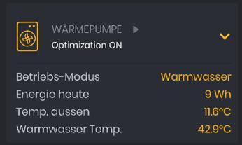 Integration von Wärmepumpen