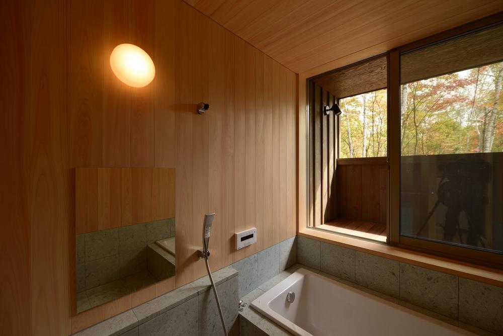 飯綱山荘(長野市飯綱高原)-浴室