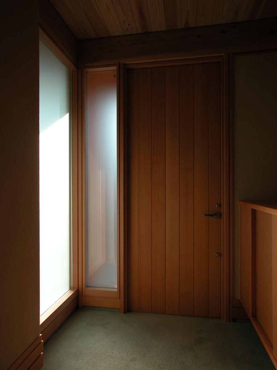 中条の家Ⅰ(松本市)-玄関