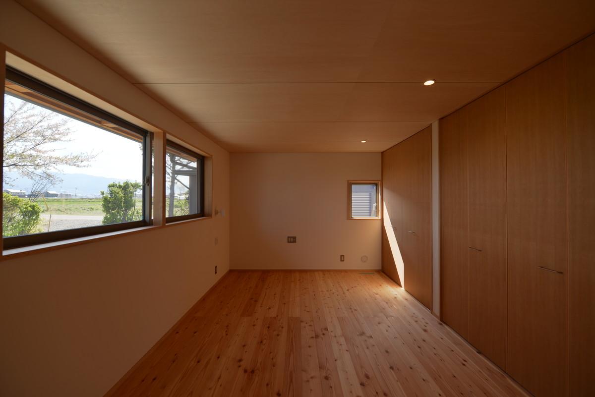 島立の家Ⅱ(松本市)1階寝室