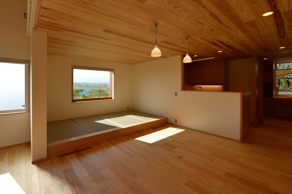 里山辺の家(松本市)-食堂・小上り
