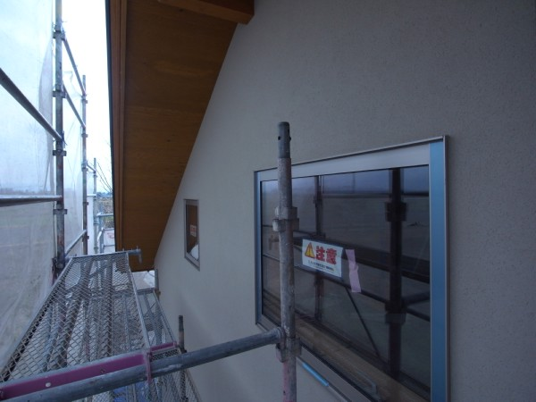 松本市 島立の家Ⅱ 左官仕上塗り 長野県松本市の建築設計事務所 建築家 丸山和男 現場監理 住宅