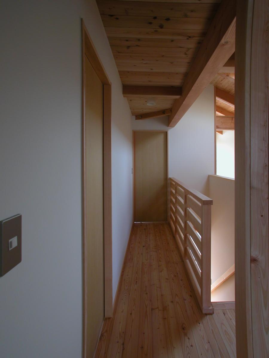 梓川の家Ⅰ(松本市)-2階ホール