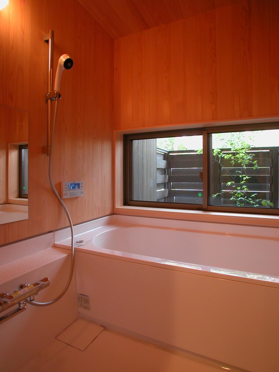 穂高有明の家Ⅲ(安曇野市)-浴室