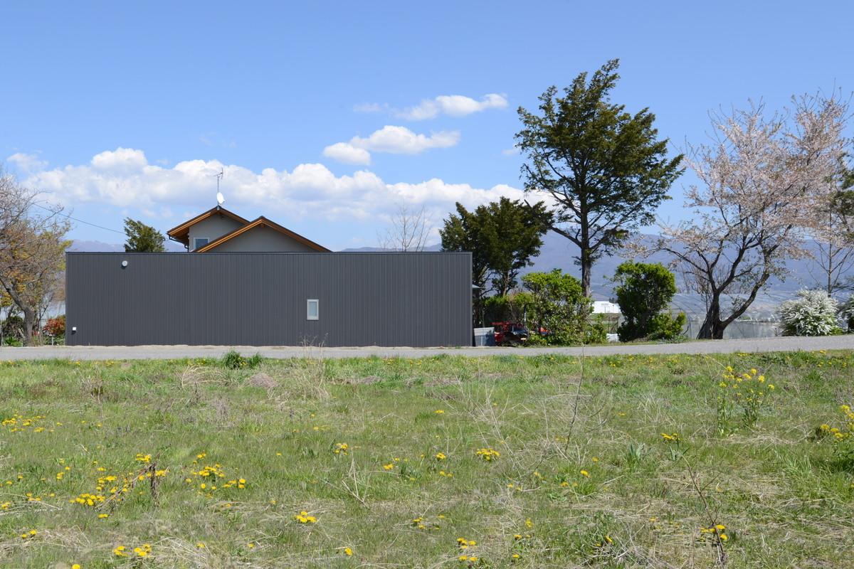 島立の家Ⅱ(松本市)農業用倉庫・住宅