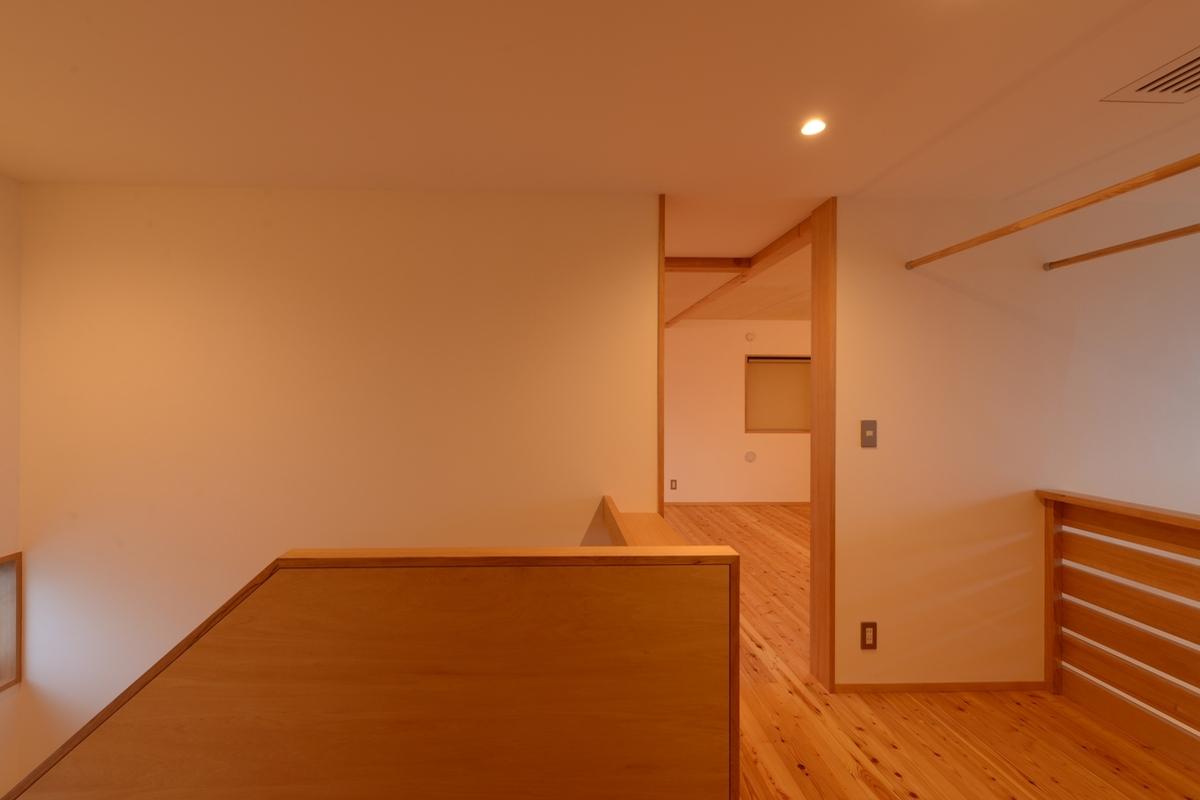 南穂高の家Ⅱ(安曇野市)-2階ホール