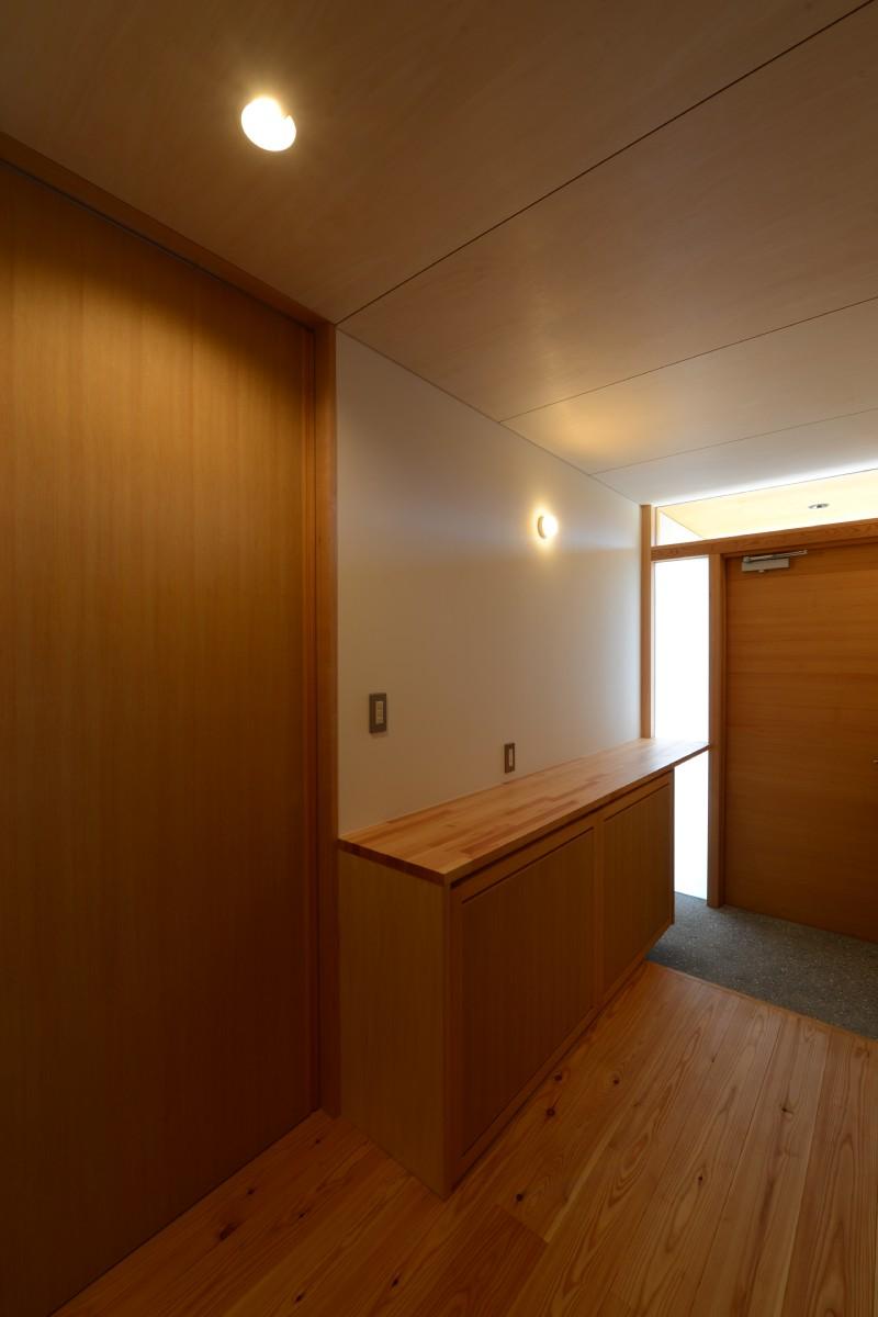 島立の家Ⅱ(松本市)玄関