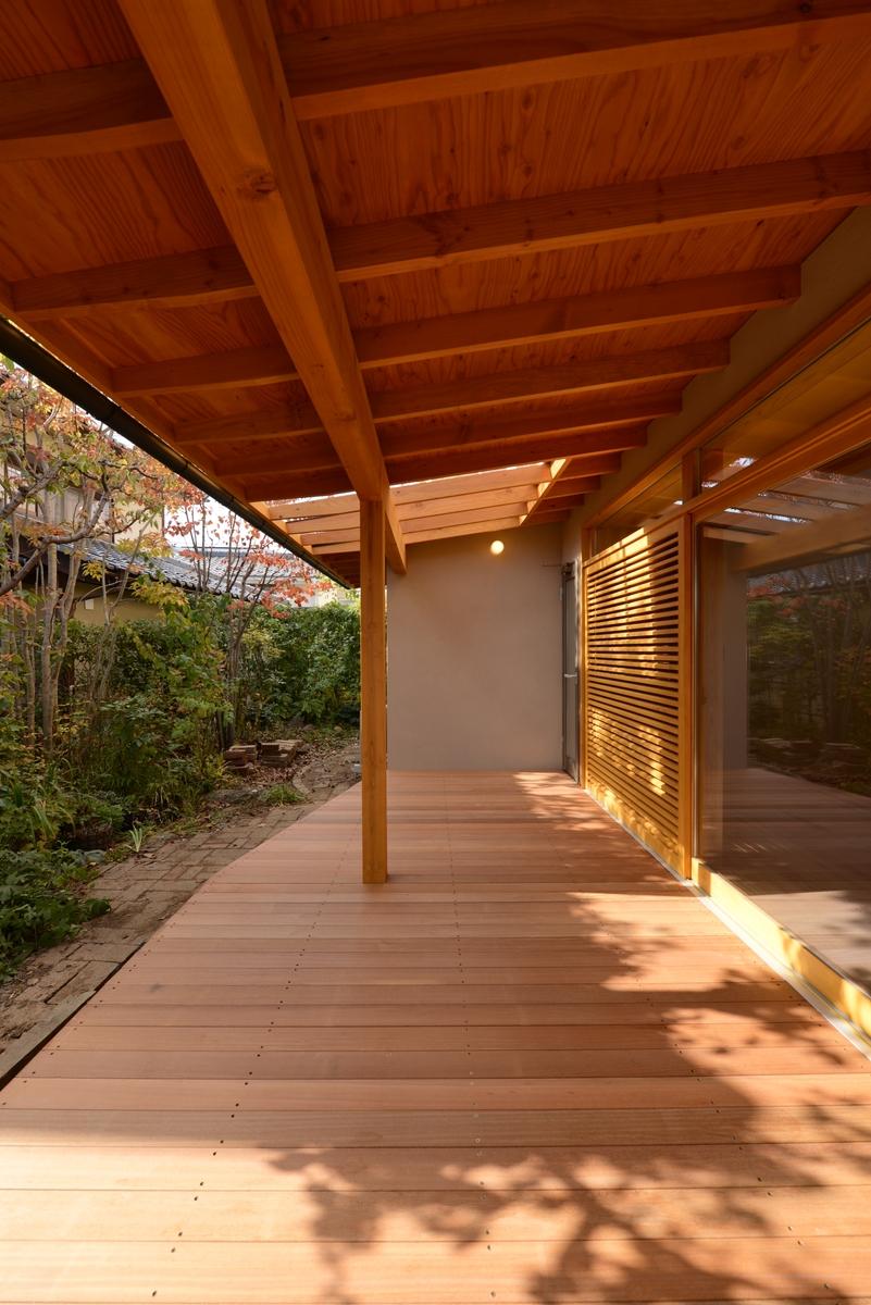 吉田の家(長野市)・リノベーション|デッキ