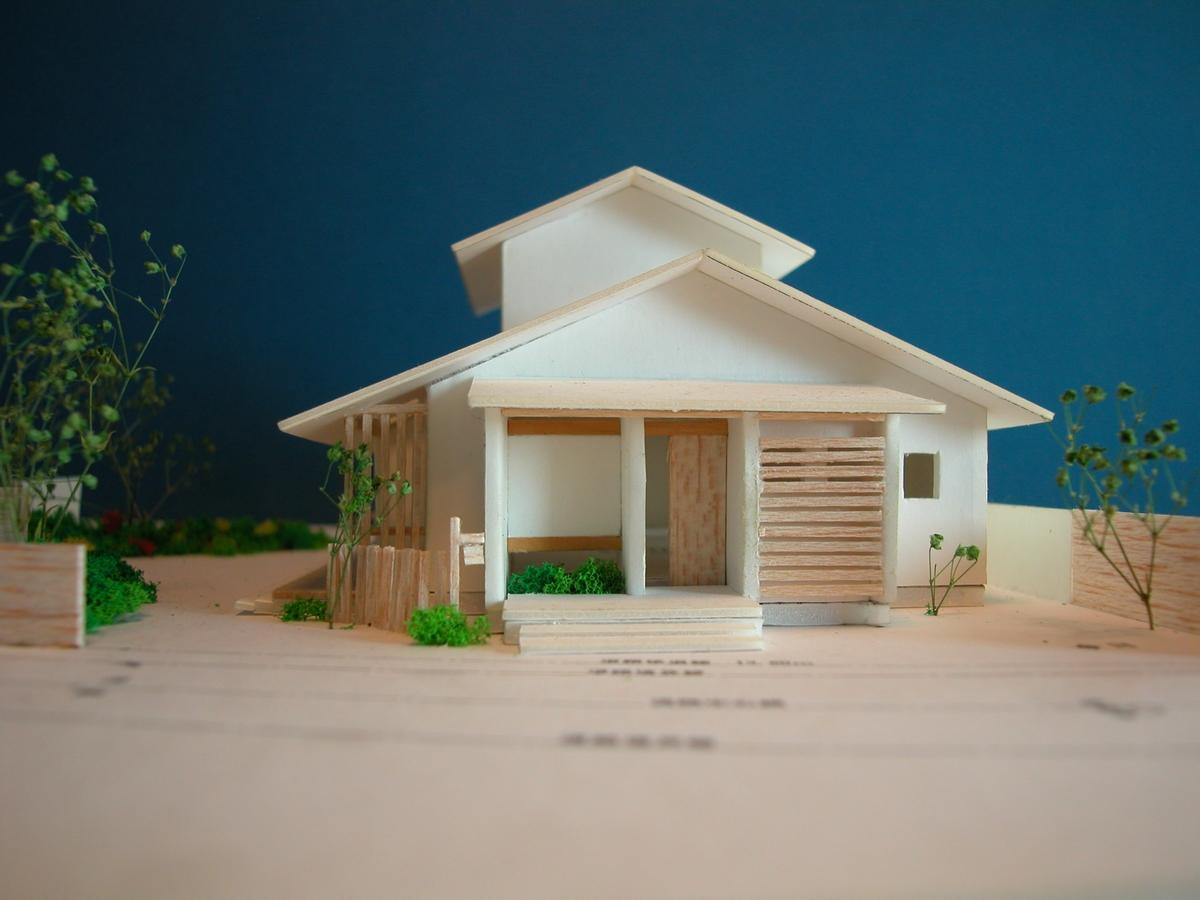 カフェあくら(松本市)-計画模型