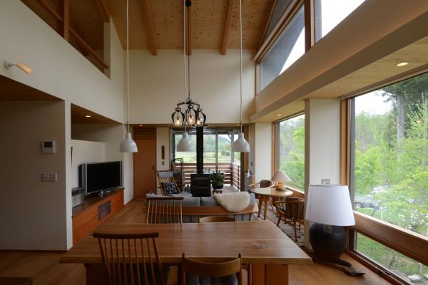 白馬の家 白馬村 建築家 住宅設計 信州の家 松本市・安曇野市の建築設計事務所