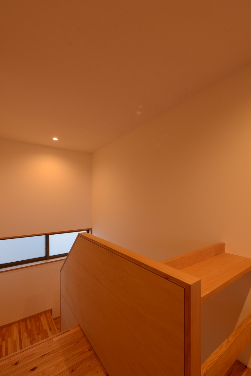 南穂高の家Ⅱ(安曇野市)-階段室