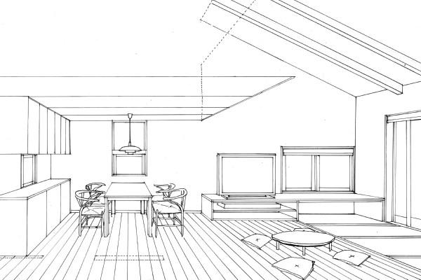 松本市 島立の家Ⅱ 長野県松本市の建築設計事務所 建築家 丸山和男