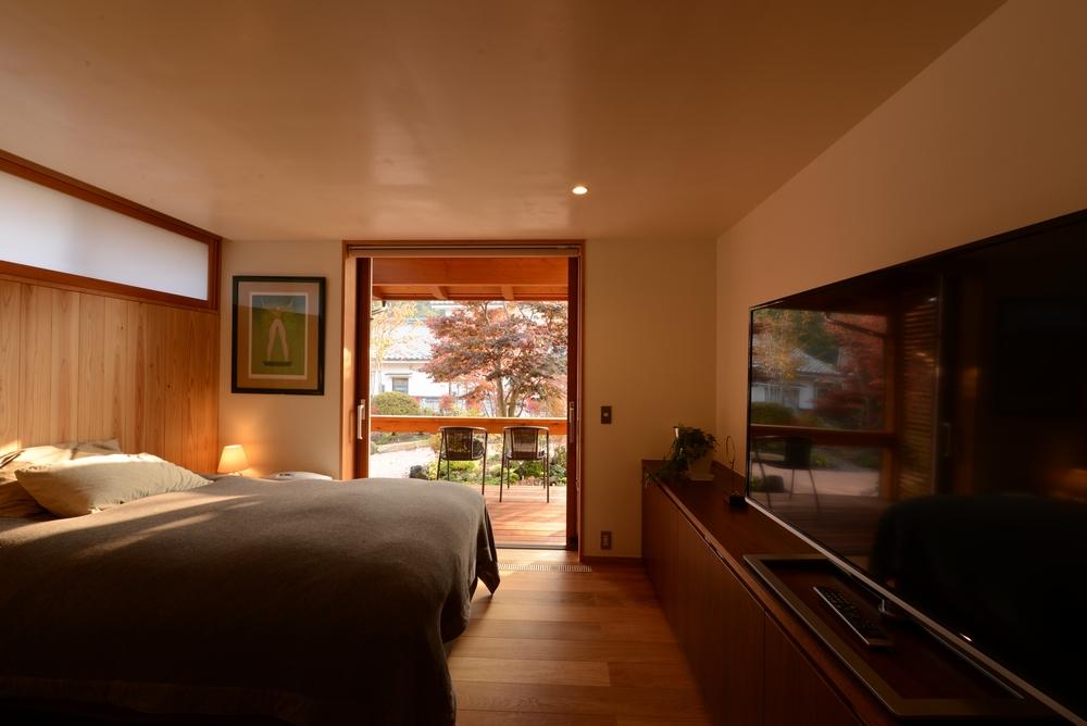 真田の家(上田市)-寝室