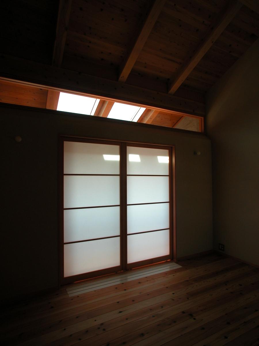 中条の家Ⅰ(松本市)-寝室