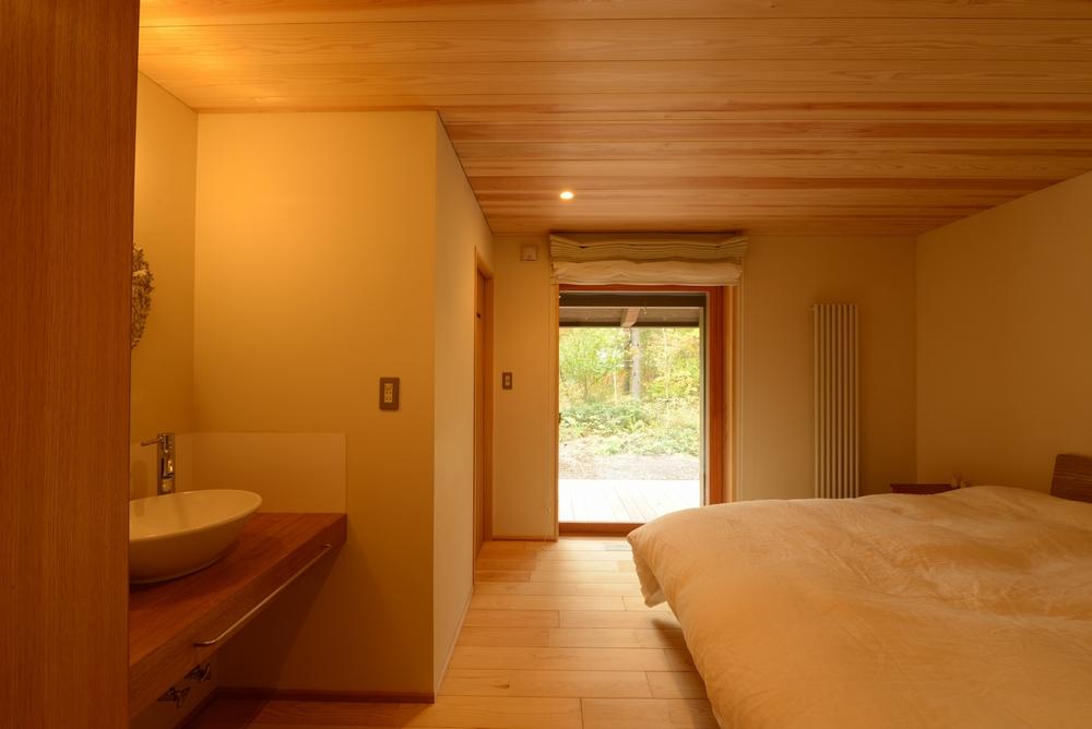 飯綱山荘(長野市飯綱高原)-寝室