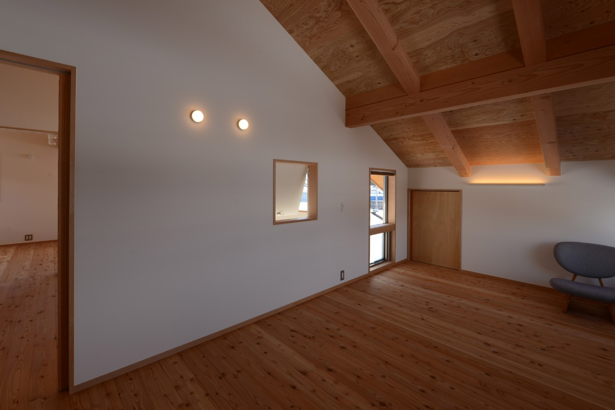 三郷の家Ⅴ(安曇野市)-2階寝室
