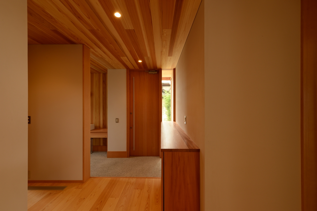 山形の家(山形村)-玄関ホール